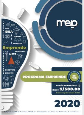 Brochure Programa Emprende
